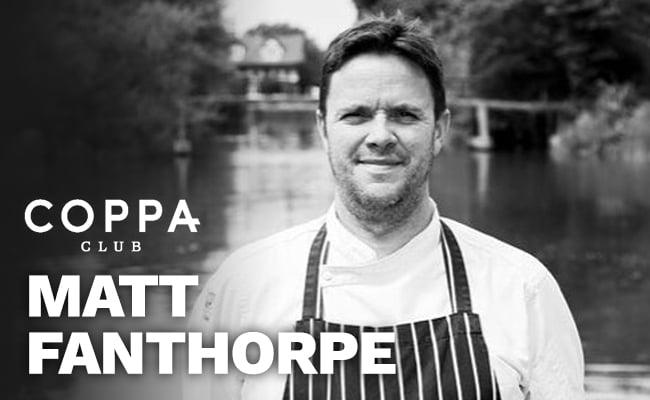 Chef Matt Fanthorpe